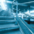 Staircase in metro station — Stock Photo