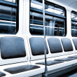 Inside modern train - Stock Photo