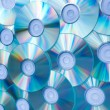 Colorful background of compact discs — Stock Photo #6712688