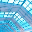 Stock Photo: Transparent ceiling inside modern building
