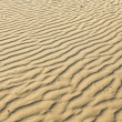 Stock Photo: Puckered texture of sand beach