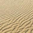 textura arrugado o fruncido de la playa de la arena — Foto de Stock