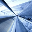 Escalator in business center - Foto Stock