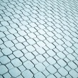Paved road of sidewalk — Stock Photo