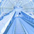 Steps of escalator in business center - Stock fotografie