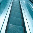 Escalator in modern building — Stock Photo