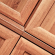 Wooden furniture detail — Stock Photo #6713686