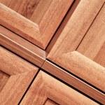 Wooden furniture detail — Stock Photo