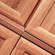 Wooden furniture detail — Stock Photo