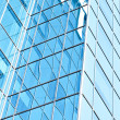 Contemporary design of glass skyscrapers, business background - Photo