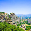 Beautiful rocks Meteora - Stock Photo