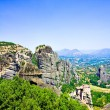 Beautiful rocks Meteora - Stockfoto