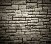 Brick wall structure — 图库照片