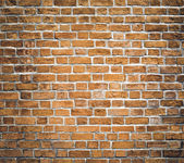 Persistence concept, background of red brick wall texture — Zdjęcie stockowe