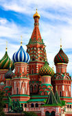 The Cathedral of Saint Basil the Blessed — Foto de Stock