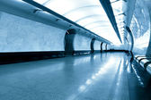 Marble structure of underground — Photo