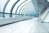 Hedendaagse hal van de luchthaven van — Stockfoto