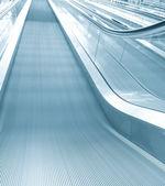 Contemporary escalator in office center — Stock Photo