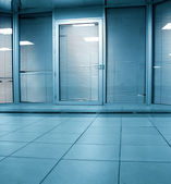 门内办公中心 — 图库照片