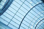 Blue transparent ceiling — Stock Photo