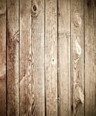 Old wooden planks of fence — Photo