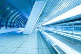 Beautiful illuminated tunnel — Stock Photo
