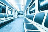 Subway inside — Stock Photo