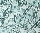 Modrá textura padesát dolarů — Stock fotografie