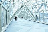 空港の現代的な廊下 — ストック写真
