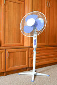 Fan in the office — Stock Photo