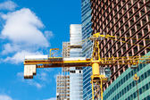 Construction of multistory building — Stock Photo