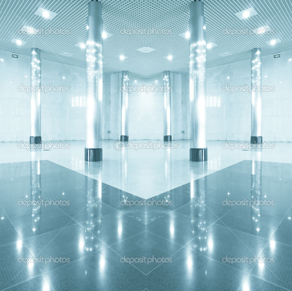 White business hall inside office center — Stock Photo #6710614