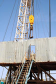 Drilling rig. — Stock Photo