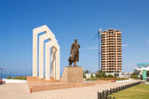 Monument Tobaniyazu Alniyazuly in Aktau. — Stock Photo
