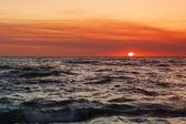 Sunset at Sea. — Stock Photo