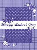 Greeting card for mother day celebration — Stock Vector