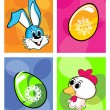 Illustration for easter day celebration — Imagen vectorial
