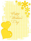 Mother day celebration greeting card — Stock Vector
