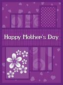 Illustration for mother's day celebration — Stockvector