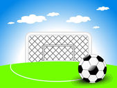 Background for football match — Stock Vector