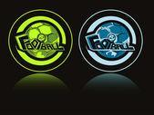 Illustration vectorielle pour sport football — Vecteur