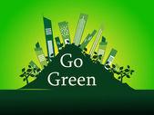 фон для перейти зеленый — Cтоковый вектор