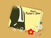 Illustration for father's day — Stockvektor