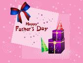Illustration for happy father's day celebration — Stockvektor