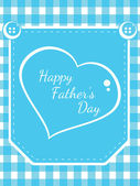 Vector background for happy father's day celebration — Vetor de Stock