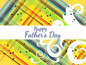 Vector background for happy father's day celebration — 图库矢量图片