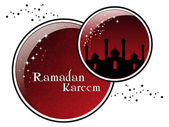 Illustration for ramadan kareem celebration — Stock Vector