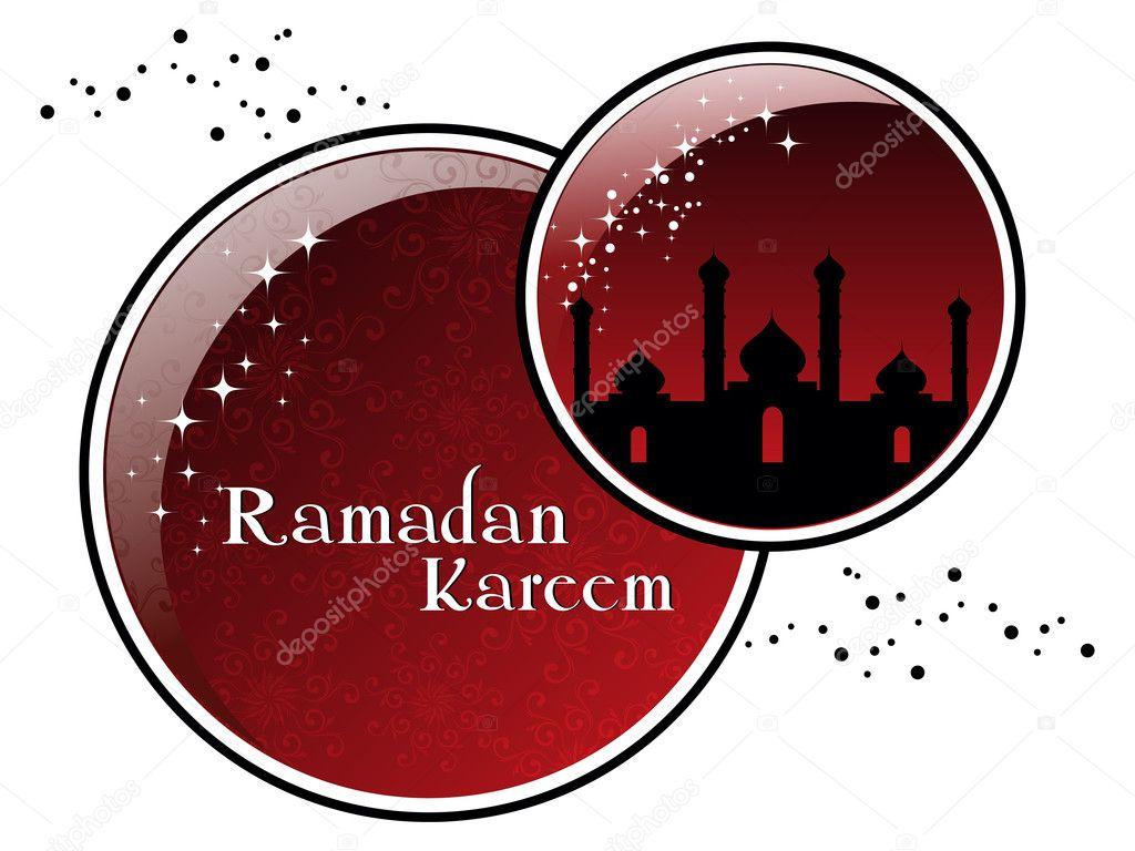 Illustration for ramadan kareem celebration - Stock Illustration