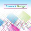 Abstract concept background, illustration — Vector de stock