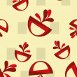 Abstract seamless pattern background — ストックベクタ